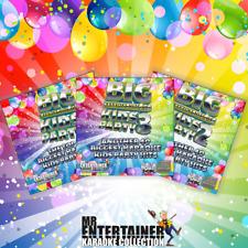 Mr Entertainer Big Karaoke Hits of Kids Party Bundle CDG Disc Packs