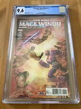 STAR WARS MACE WINDU #5 CGC 9.6   1st Marvel Comics AHSOKA TANO
