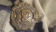 WW1 WWI CEF Cap Badge - 138th Battalion - Maker Marked