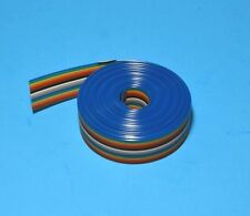 IDC Color Cable Ribbon Cable Roll 12 Ft 16-Pin, Fast ship from USA