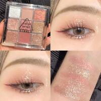 Eyeshadow Cosmetic Makeup Kit Shimmer Glitter Eye Shadow Powder Palette Matte UK