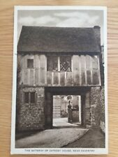THE GATEWAY OF CATESBY HOUSE Near Daventry UNUSED