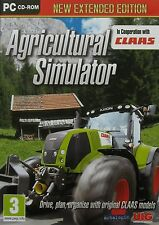 AGRICULTURAL SIMULATOR ***NEW EXTENDED EDITION*** PC GAME (Brand New & Sealed)