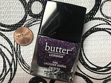 BUTTER London Nail Polish INDIGO PUNK * Full Size .4 oz * SEALED