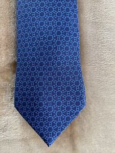 authentic hermes tie made in france