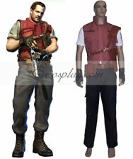 Hot!Anime Resident Evil 5 Barry Burton Cosplay Costume