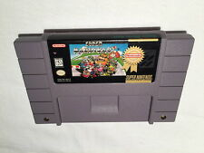 Super Mario Kart (Super Nintendo SNES, Player's Choice) Game Cartridge Excellent