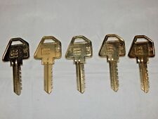 NEW 5 Russwin High Security Emhart slotted blank keys 6D1WR 3-06-06-310