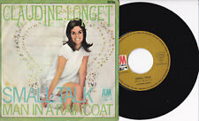 "Claudine Longet ‎-Small Talk /  Man In A Raincoat- 7"" 45 GER, A&M Records 1967"