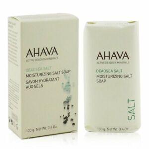 Ahava Deadsea Salt Moisturizing Salt Soap 100g Bath & Shower