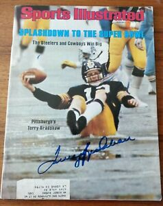 Terry Bradshaw Signed Sports Illustrated 1979 - Signatures.com