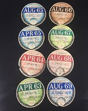 Vintage 1963-69 Original Road Tax Discs For A Commer Vehicle.    (P)