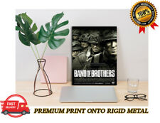 Band of Brothers Classic Tv Show Premium Metal Poster Art Print