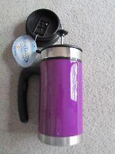 French Press Travel Mug - Purple