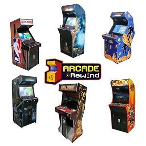 "Arcade Rewind Range of Upright Arcade Machine 26"" screen Free Shipping"