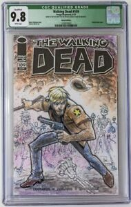 Walking Dead #109 CGC Graded 9.8 Chris Townsend Sketch Image/Skybound 4/13