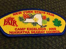 MINT CSP Hiawatha Seaway Council SA-116 2008 Camp Excelsior