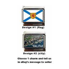 Halifax, Nova Scotia Custom Italian Charm, beautiful charm, Canada