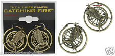 UPDATED MOCKINGJAY HOOP EARRINGS -NECA- THE HUNGER GAMES: CATCHING FIRE