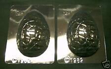 2 pequeño huevo de Pascua Chocolate Moldes/Moldes Pastel Decoración. hecho en el Reino Unido
