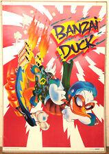 (PRL) 1986 BANZAI DUCK PAPERINO WALT DISNEY VINTAGE POSTER ART PRINT COLLECTION