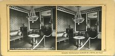 Grand Trianon Cabinet de travail de Napoléon 1er Photo PL37 Stereo Vintage