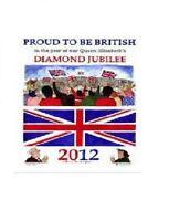 Queen Elizabeth II Proud to be British Linen Tea Towel by Samuel Lamont
