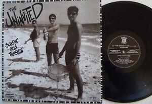 "THE UNINVITED-""SURFIN AND TRASHIN""-ITALIA 1995-SURF/GARAGE"