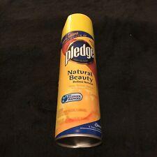 Pledge Natural Beauty Lemon Furniture Polish Spray 17.7 Oz Discontinued HTF
