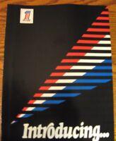 1973 Harley Davidson Brochure, Super Glide Sportster Electra Glide Motorcycles