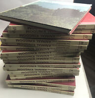 The Illustrated Encyclopedia of the Animal Kingdom 1972 (Entire 20 Book Set)