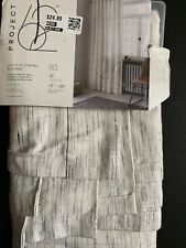 """Project 62 Blackout Curtain 99.9% Maximum Privacy 50"""" x 84"""" in"""