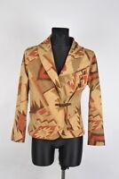 Ralph Lauren Licht Damen Jacke Blazer Größe L, Original