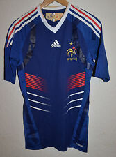 Player issue France coupe du monde 2010 Home Football Shirt Jersey Adidas techfit