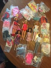 Vintage -1960's Lot: Skippers, Skooters, Clothes And Accessories