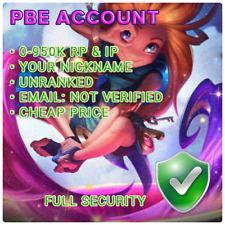 PBE Account League of Legends