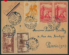 57870 - IVORY COAST + AOF -  POSTAL HISTORY: COVER 1940'S - COFFEE agricolture