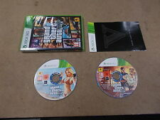 Xbox 360 Pal Game GRAND THEFT AUTO V FIVE with Box Instructions