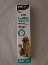 M&C EAR CLEANER FOR DOGS AND CATS,100ml.ALCOHOL FREE,WITH NEEM OIL