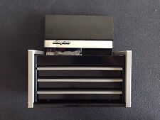 Snap On BLACK Mini Micro Top Chest Tool Box Rare Brand New