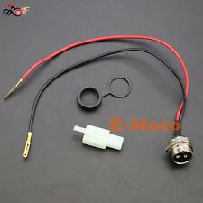 3 PIN CONNECTOR JACK SOCKET FOR BATTERY CHARGER RAZOR IZIP E SCOOTER STAR NEW