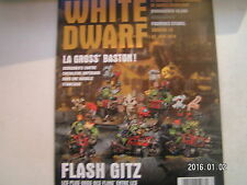 *** White Dwarf n°19 La Gross Baston / les règles Flash Gitz / Eavy Metal /