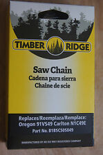 """CHAINSAW CHAIN 3/8"""" Low Profile .050"""" 49 DRIVE LINKS * Timber Ridge  * NEW *"""