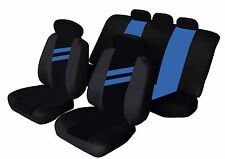 SUZUKI SWIFT Universal Car Seat Covers BLUE STRIPE