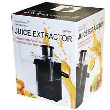FRUIT VEG JUICE EXTRACTOR 2 SPEED JUICER PULSE FUNCTION STAINLESS STEEL FILTER