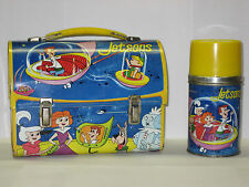 1963 Hanna Barbara The Jetsons Metal Dome Lunch Box W/Thermos