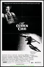 THE COTTON CLUB MOVIE POSTER Original Folded 27x41 RICHARD GERE 1984
