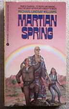 Martian Spring by Michael Lindsay Williams PB 1st Avon - Alcyon Hermes
