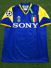 Juventus 1995-1996 Retro Shirt Uefa Champions League Del Piero #10 Size Xl