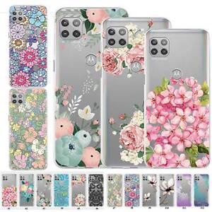 Colorful Floral Case Cover For Motorola Moto G Power 2021 Edge S/G100 E/E6s 2020